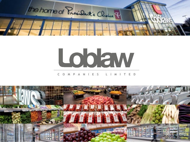 loblaw swot Loblaw companies limited (l) - financial and strategic swot analysis review provides you an in-depth strategic swot analysis of the company's busin.