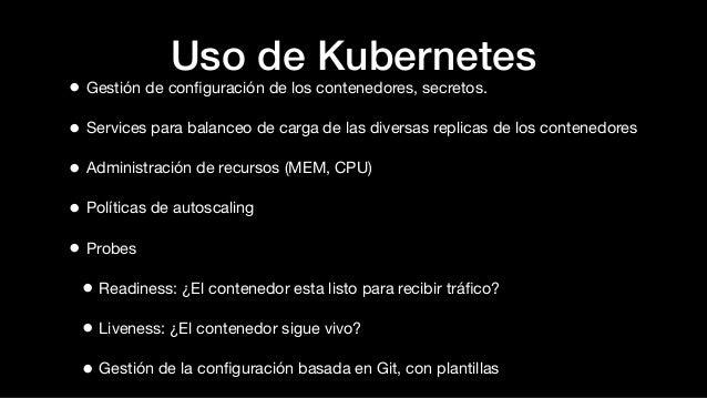 Orquestaci n de contenedores con kubernetes sgnext for Arquitectura kubernetes