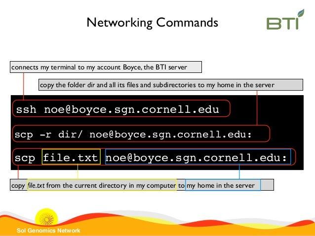 SGN Introduction to UNIX Command-line 2015 part 1