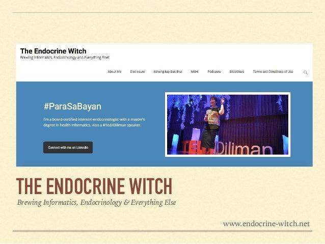 www.facebook.com/EndocrineWitch