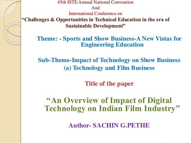 Impact of digital technology essay