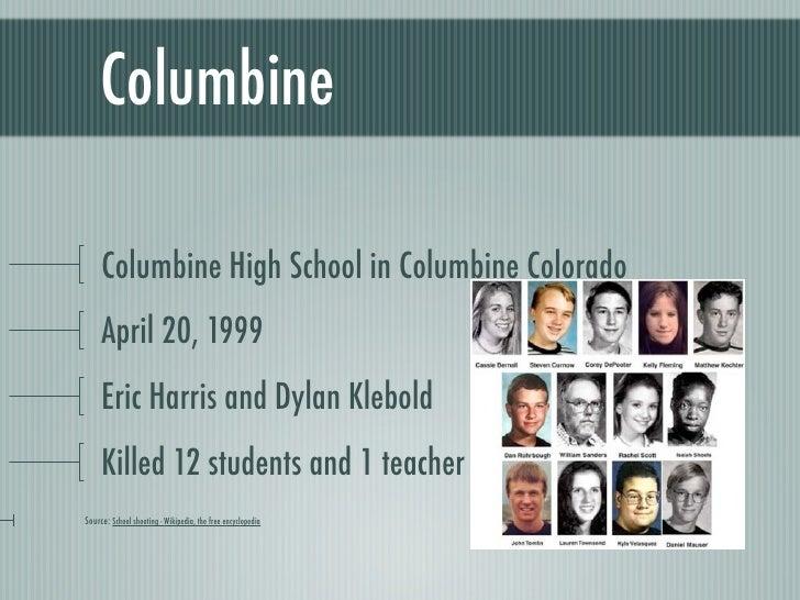 violence at columbine high school essay