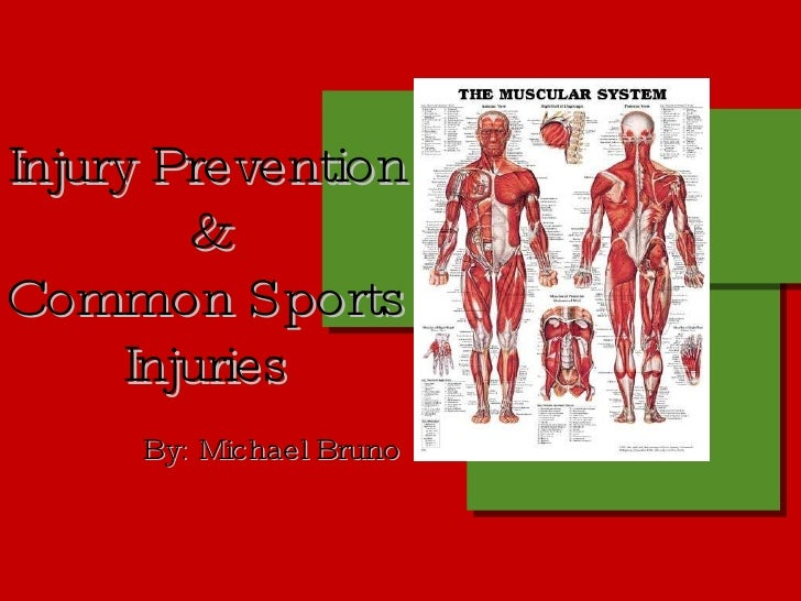sports injury prevention essay Sports injury essay sports injury's by prevention of sports injuries (p1, p2) scenario having gained a work placement with a physiotherapist.