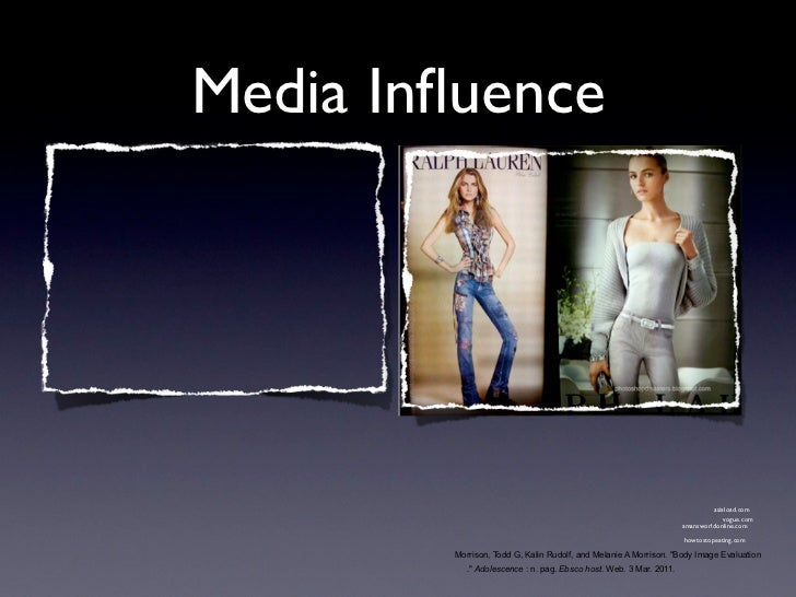 media influence essays