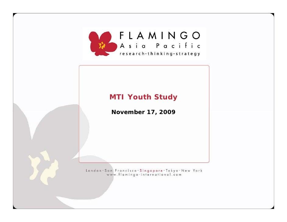 MTI Youth Study  November 17, 2009