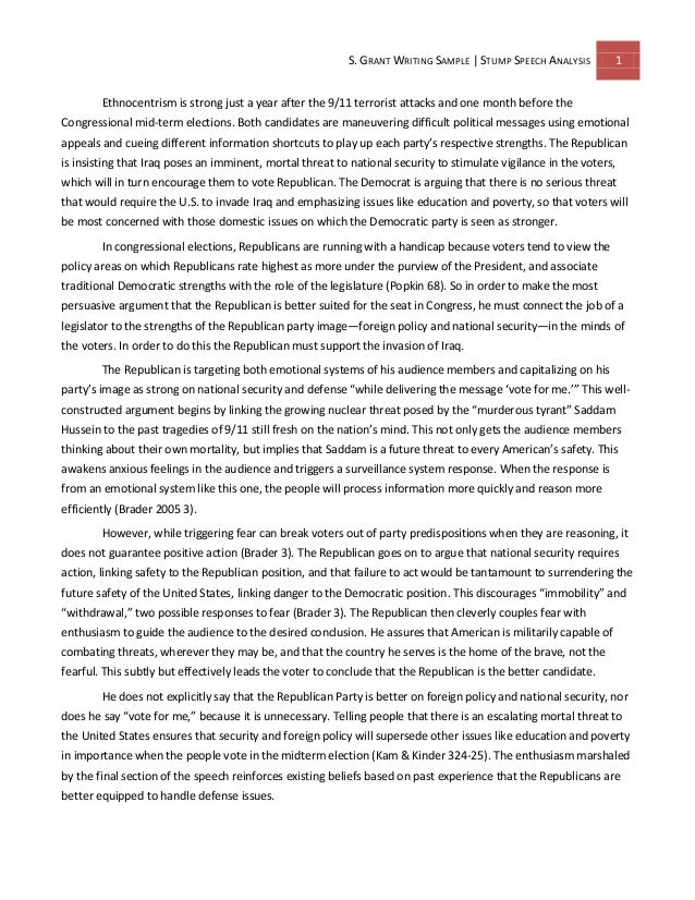 speech essay example speech sample image titled write a thank you speech essay example - Example Of Speech Essay