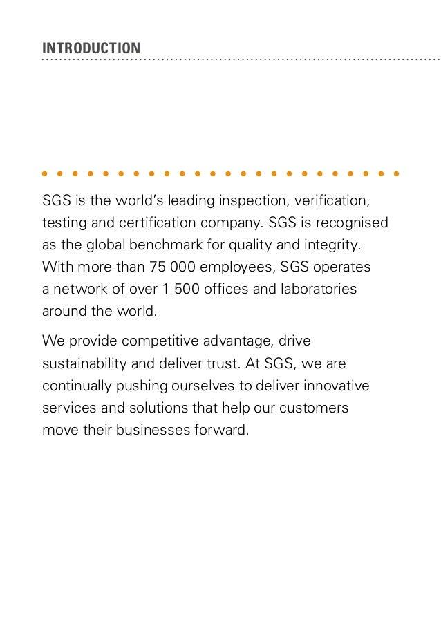 SGS Group Profile 2013 Slide 2