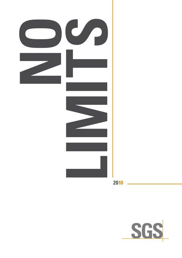 NO LIMITS 2010