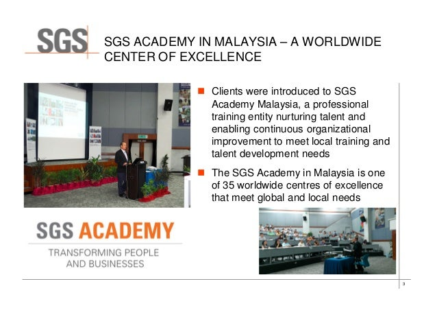 Key Highlights From The Sgs Malaysia Client Info Day April 2014