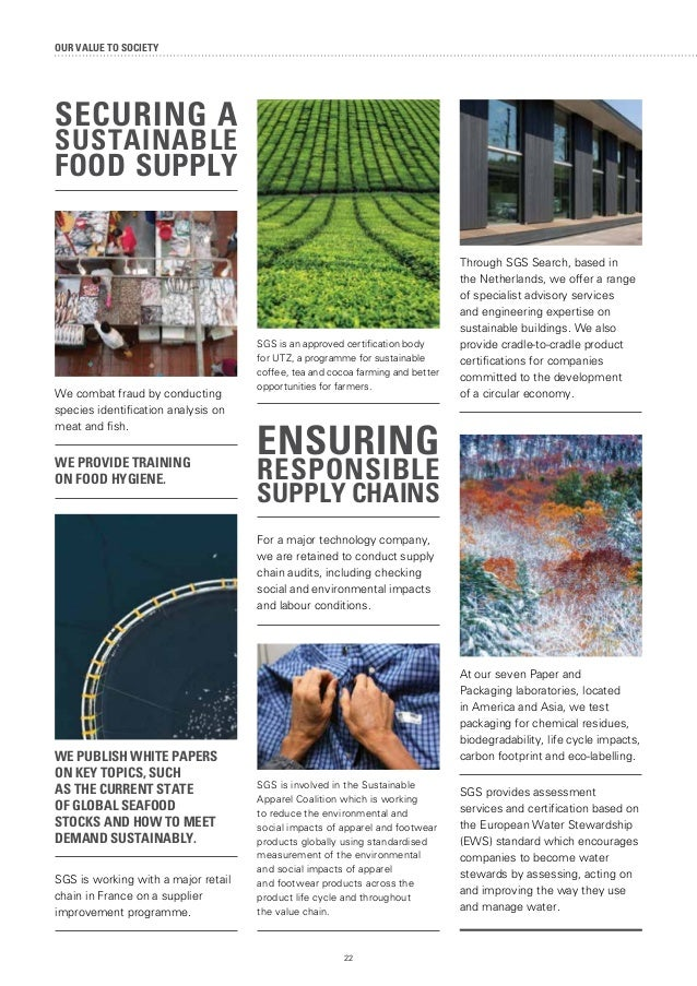 SGS Sustainability Report 2014