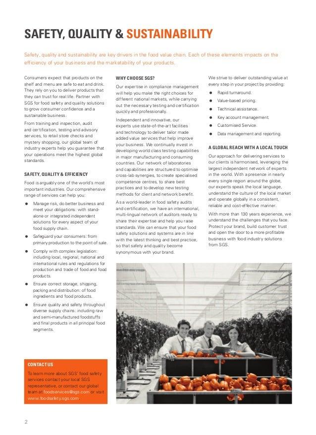 Sgs cts food brochure hyb en 2013 Slide 2