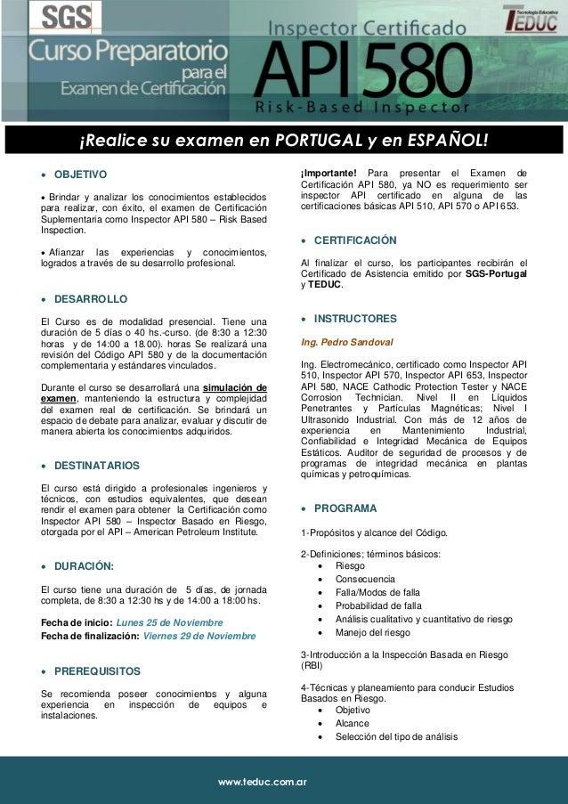 www.teduc.com.ar ¡Realice su examen en PORTUGAL y en ESPAÑOL!  OBJETIVO  Brindar y analizar los conocimientos establecid...
