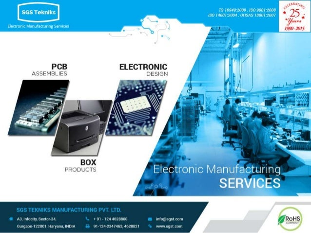 SGS Tekniks - Best Electronic Contract Manufacturing Company