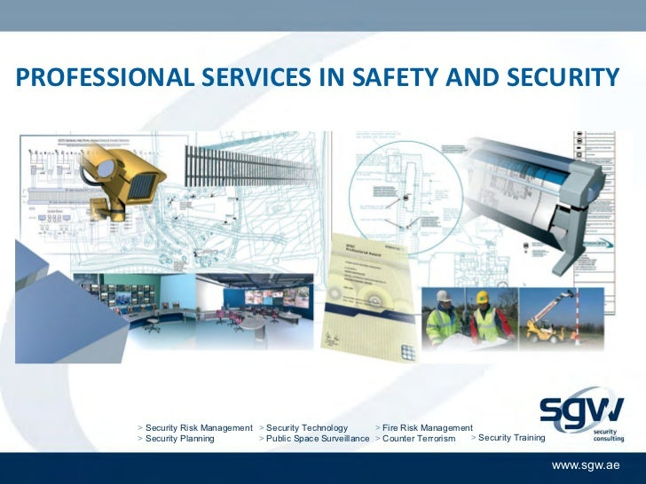 PROFESSIONAL SERVICES IN SAFETY AND SECURITY        > Security Risk Management > Security Technology       > Fire Risk Man...