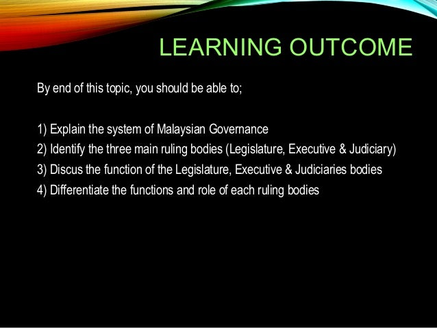 4 practices of check and balance in the malaysia parliamentary system 4 5 2 3 date of most recent polity transition (3 or more point change) end  date 7 march  malaysia is a federal constitutional monarchy with a  parliamentary form of government the current  parliament in practice, however , there is no working system of checks and balances that would effectively.