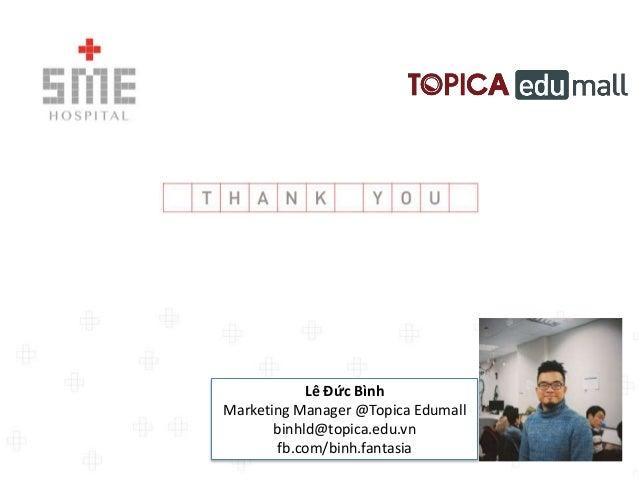 Chia sẻ về hoạt động Marketing & Sales của Topica Edumall