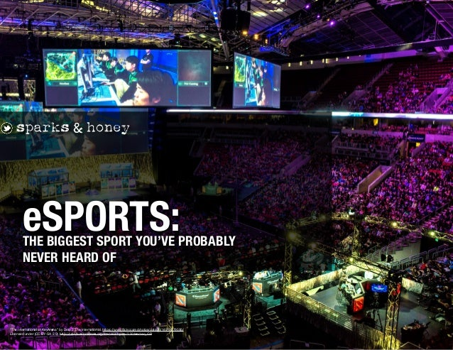 "THE BIGGEST SPORT YOU'VE PROBABLY NEVER HEARD OF eSPORTS: ""The International at KeyArena"" by Dota 2 The International. htt..."