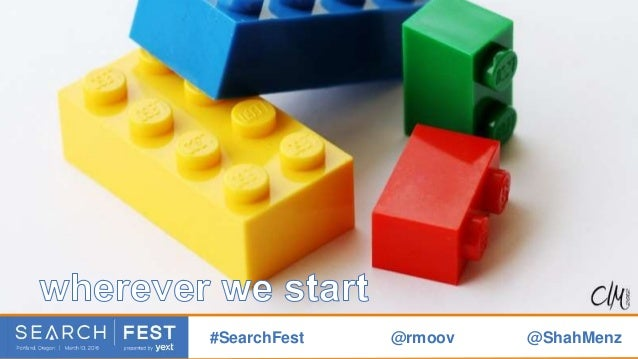there are things we must acknowledge #SearchFest @rmoov @ShahMenz