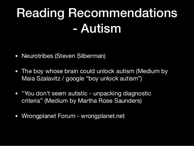 The Boy Whose Brain Could Unlock Autism >> Nerd Wrangling 101 Managing Neurodiversity With Cognitive