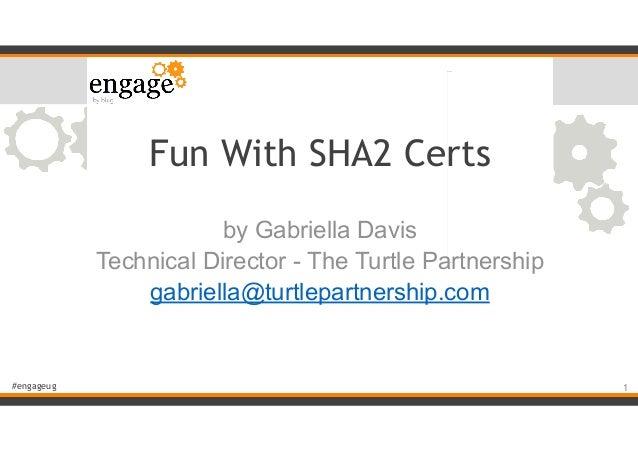 Fun With SHA2 Certificates