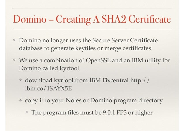 the ssl problem and how to deploy sha2 certificates
