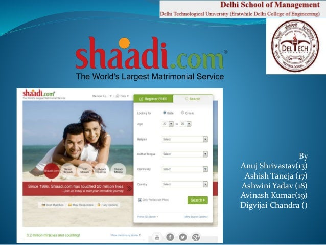 how to register on shaadi com