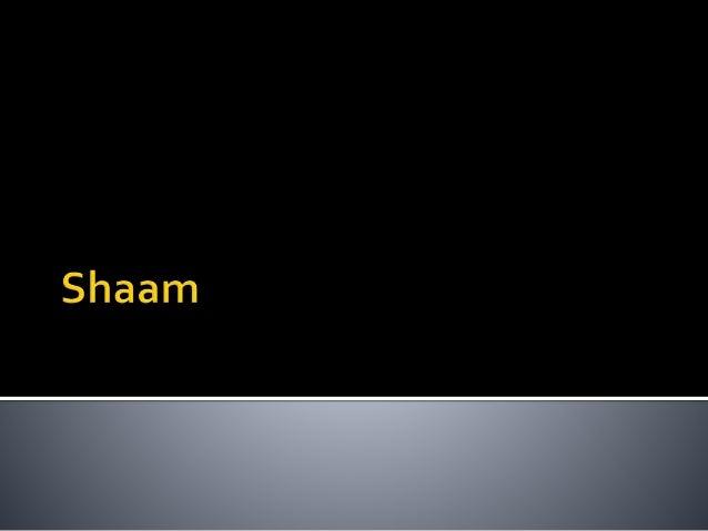 Shaam