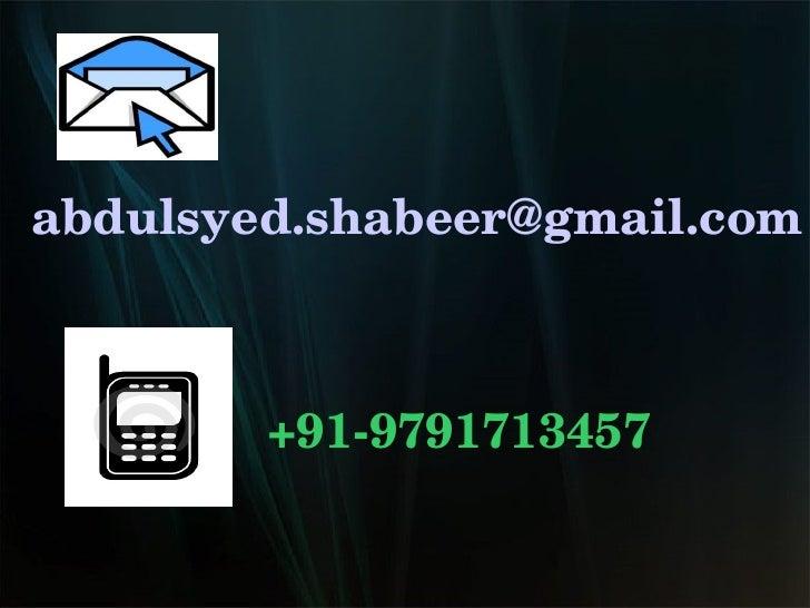 [email_address] +91-9791713457