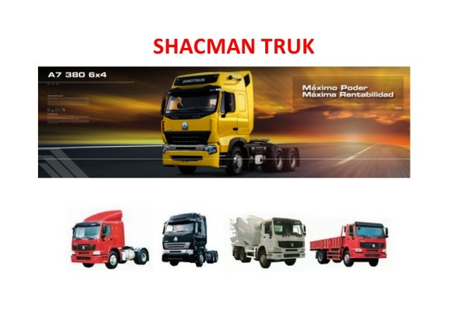 SHACMAN TRUK