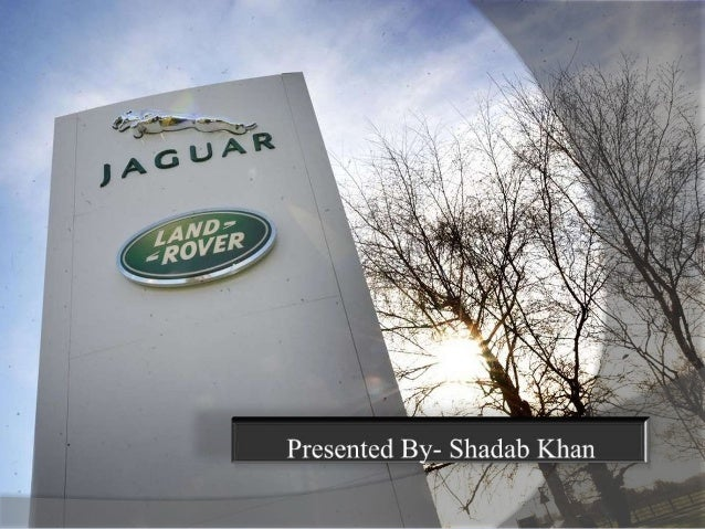 Jaguar Car Company Ppt