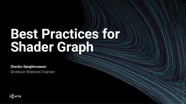 Best Practices for Shader Graph