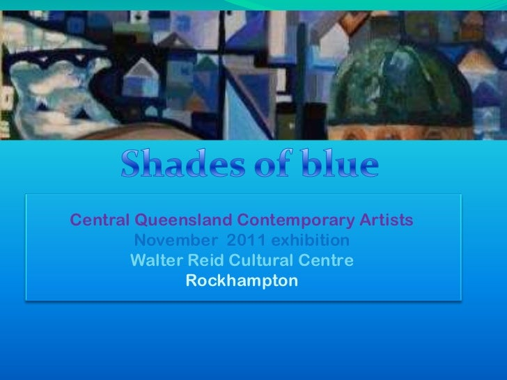 Central Queensland Contemporary Artists        November 2011 exhibition       Walter Reid Cultural Centre             Rock...