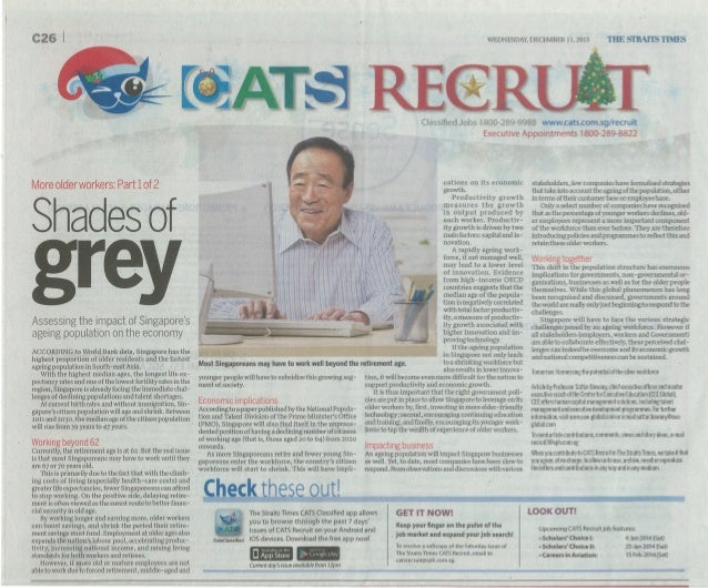 Shades of Grey in The Straits Times 11 Dec 2013