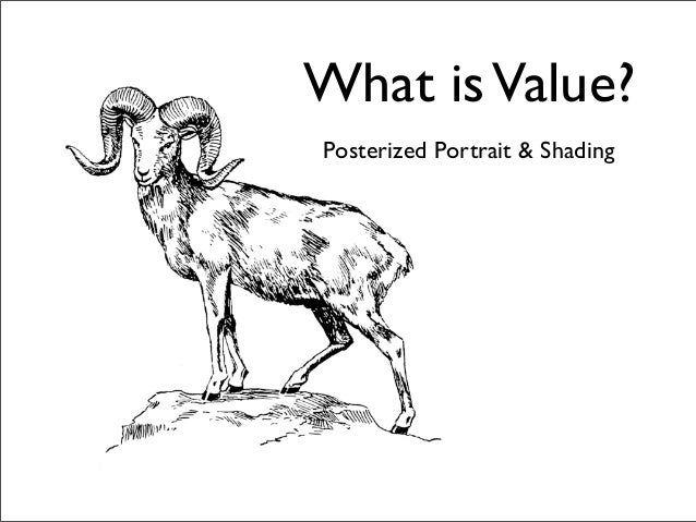 What is Value?Posterized Portrait & Shading