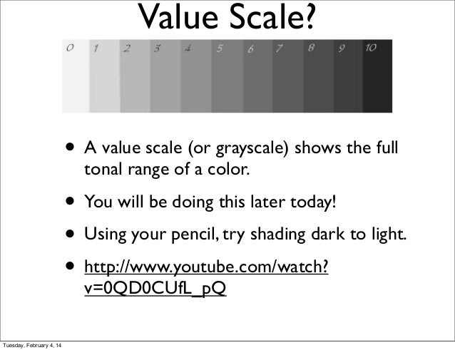 Tonal scale in pencil dating 1