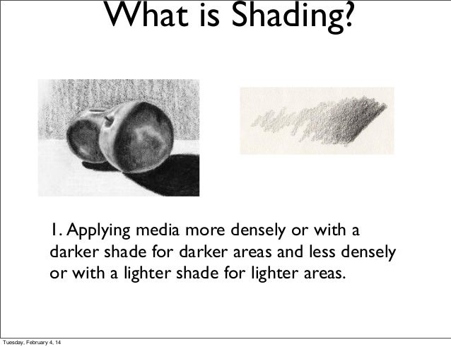 shading technique slideshow 2014