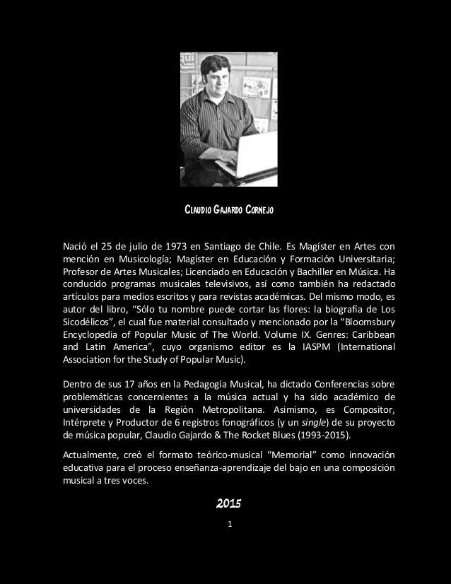 Shadow-cliff: La biografía de Patricio Hevia y Los Masters Slide 2