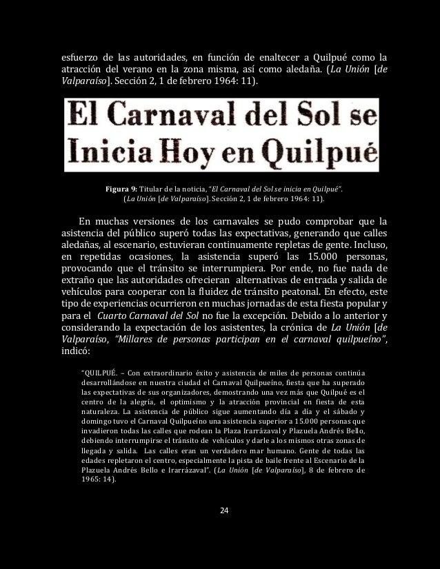 24 esfuerzo de las autoridades, en función de enaltecer a Quilpué como la atracción del verano en la zona misma, así como ...