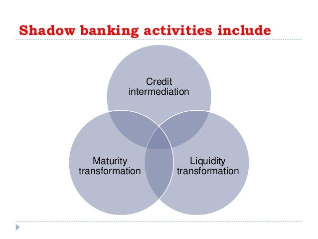 Liquidity transformation vs maturity transformation