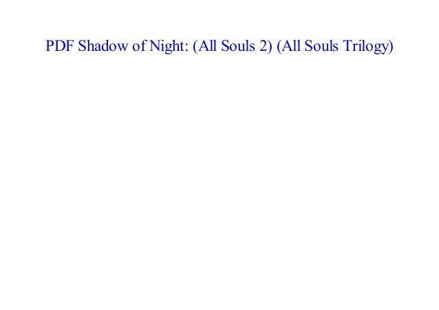 Shadow Of Night Epub