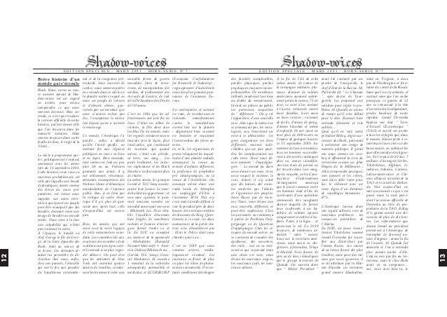EDITION SPECIALE - MARS 2051 - HORS-SERIE N°7  Brève histoire d'un nal et de la vengeance pré- nouvelle forme de guerre (E...