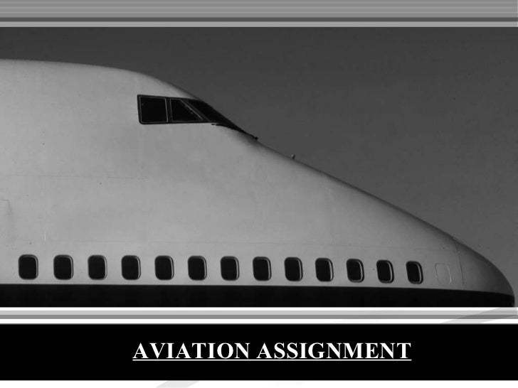 AVIATION ASSIGNMENT
