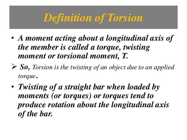 Torsional Diagram