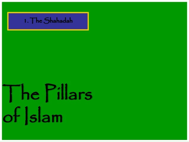 Shahdat five pillars of islam final