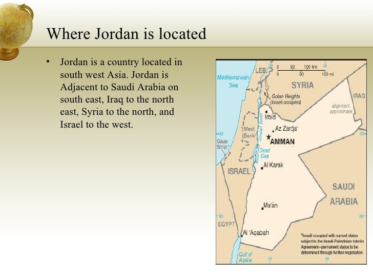 Shaheds Powerpoint - Where is jordan located