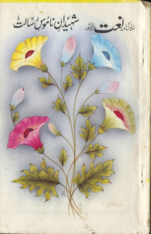 Shaheedan e namoos e risalat vol 1 by mahnama naat lahore