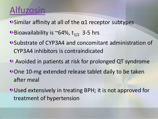 Adverse effects Marked postural hypotension & syncope seen 30-90 mins after an initial dose of prazosin & 2-6 hours after ...