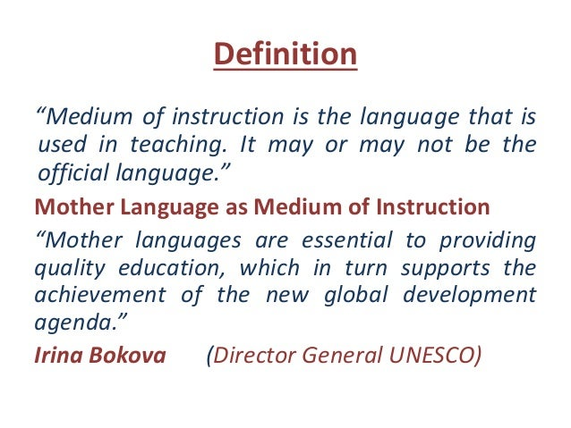 what is the definition of instruction