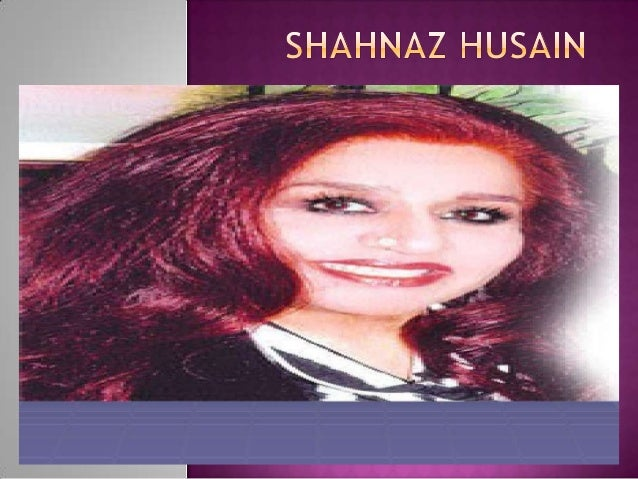      INTRODUCTION MAKING OF AN ENTREPRENEUR PRODUCTS ENTERPRENEURSHIP – THE SHAHNAZ HUSAIN WAY   THE TURNING POINT  ...
