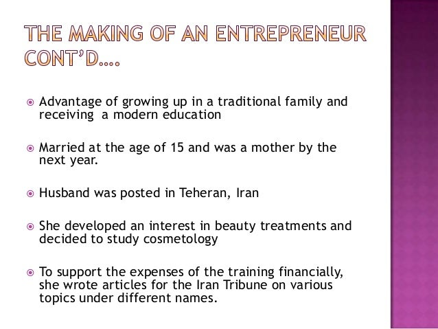 case study on shahnaz husain Case study anand mahindra's two cents worth to indian it industry 21  development of  case study shahnaz husain—the ayurveda entrepreneur 222.